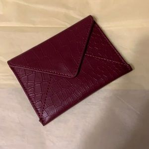 RM 100% Leather Card Carrying Case